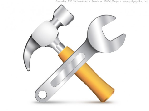 settings-icon--psd-hammer-and-wrench_30-2396